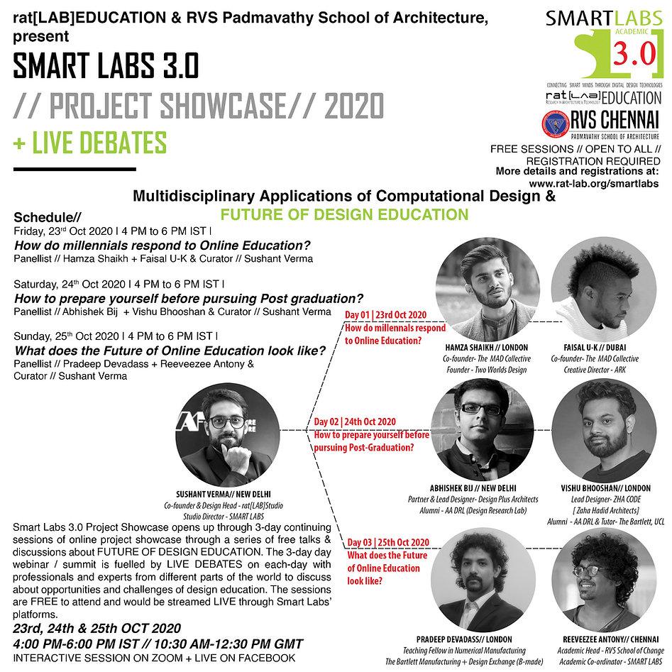 Smart Labs 3 LIVE DEBATE Panel