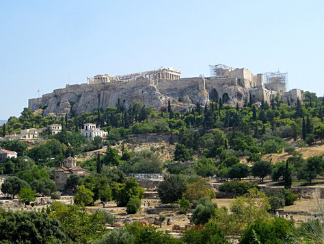The Acropolis (Athens, Greece)