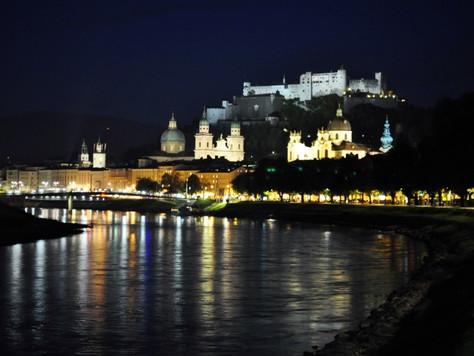 Salzburg at Night (Austria)