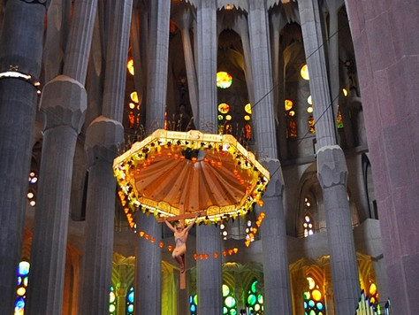 Sagrada Familia Crucifix (Barcelona, Spain)