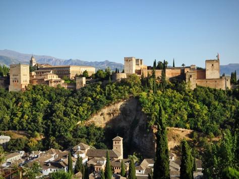 The Alhambra from San Nicolas Viewpoint (Granada, Spain)