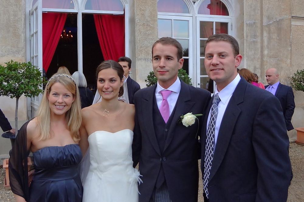 (Left to Right) Me, Charlotte, Vincent, Kyle