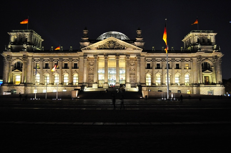 The Reichstag At Night (Berlin, Germany)