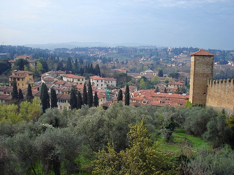 View from Boboli Gardens (Florence, Italy)