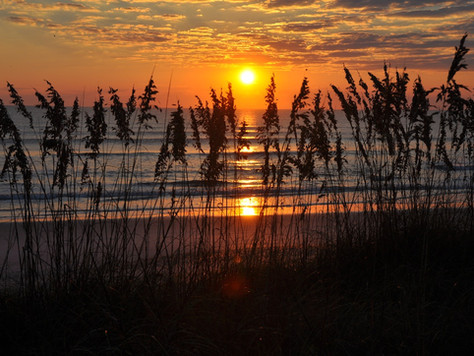 Sunrise at the Beach (Ponte Vedra Beach, Florida)