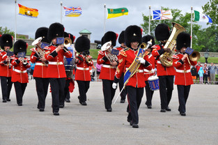 Changing of the Guard at La Citadelle (Quebec City, Canada)