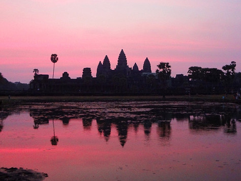 Sunrise at Angkor Wat (Siem Reap, Cambodia)