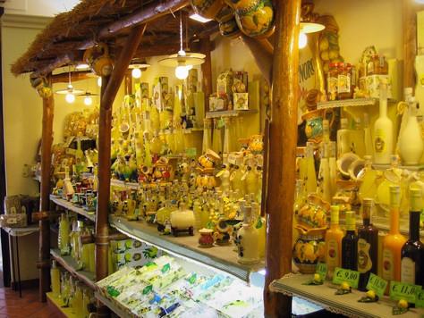 Limoncello… Serve Very, Very Cold (Sorrento, Italy)