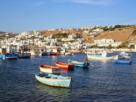 Mykonos Harbor (Greece)