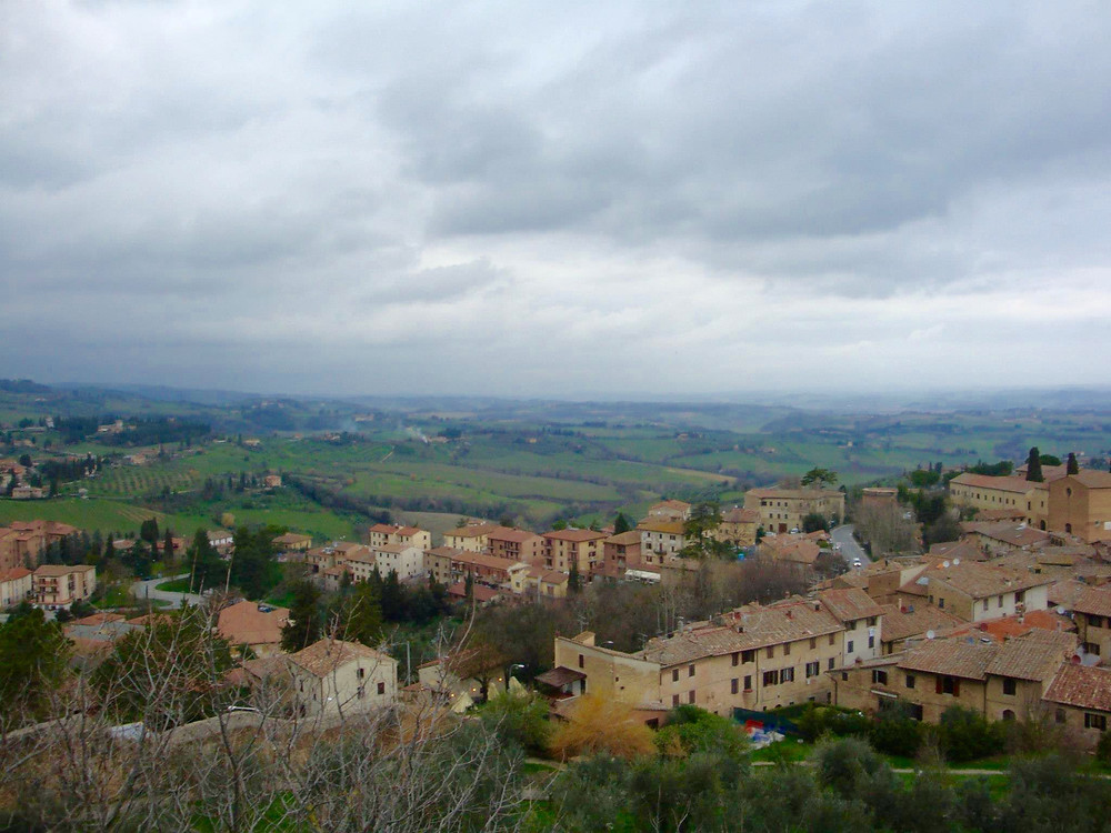 View from San Gimignano, Photo Credit: Jaclyn Scotto