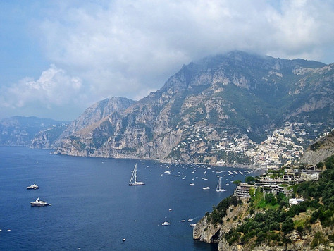 View of the Amalfi Coast (Amalfi, Italy)