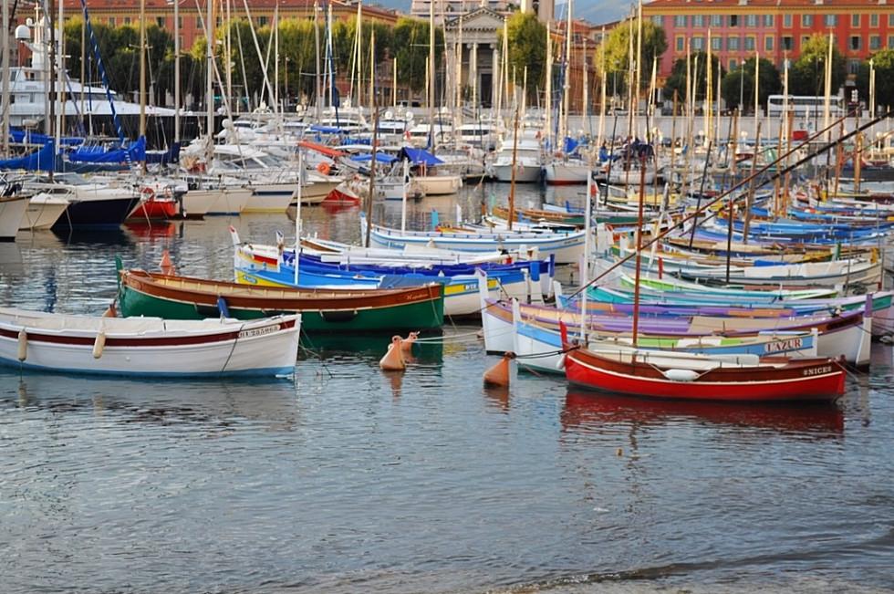 Harbor Boats (Nice, France)