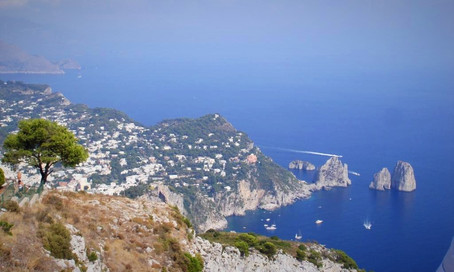 View from Monte Solaro (Capri, Italy)