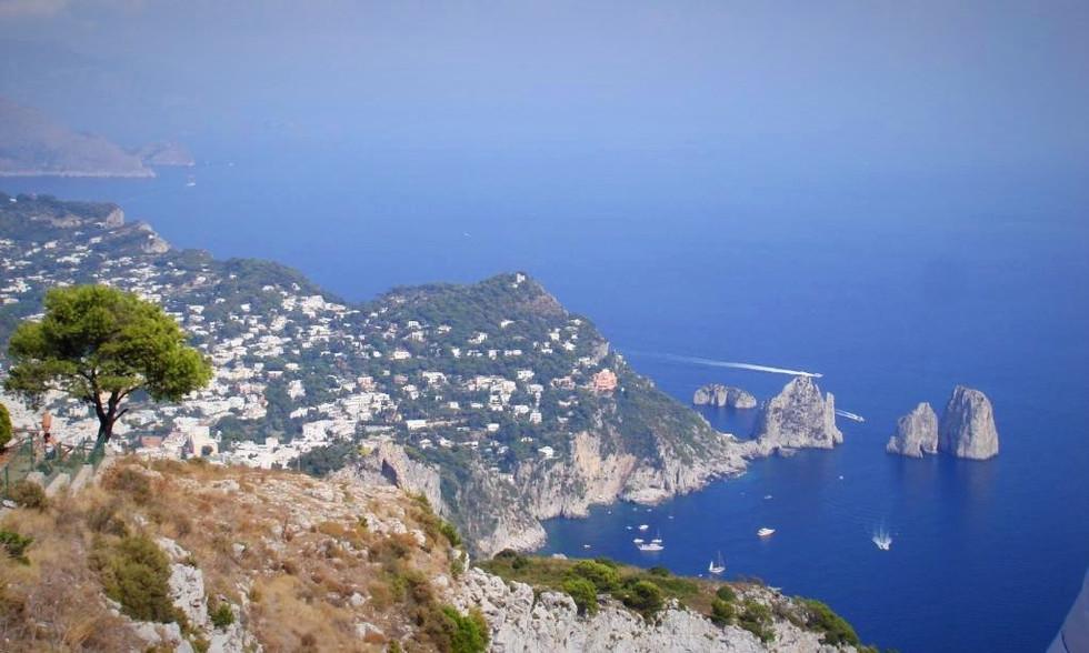 View from Monte Solaro (Capri, Italy)