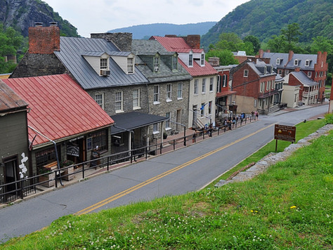 A Day in Harpers Ferry, West Virginia