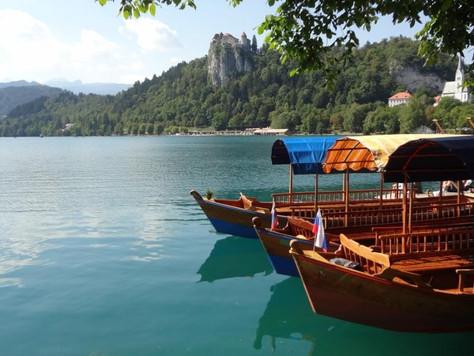 Pletna Boats on Lake Bled (Bled, Slovenia)
