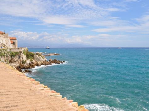 Riviera Waterfront Walk (Antibes, France)