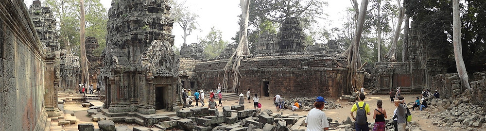 Part of The Tree-Entrapped Ta Prohm Temple
