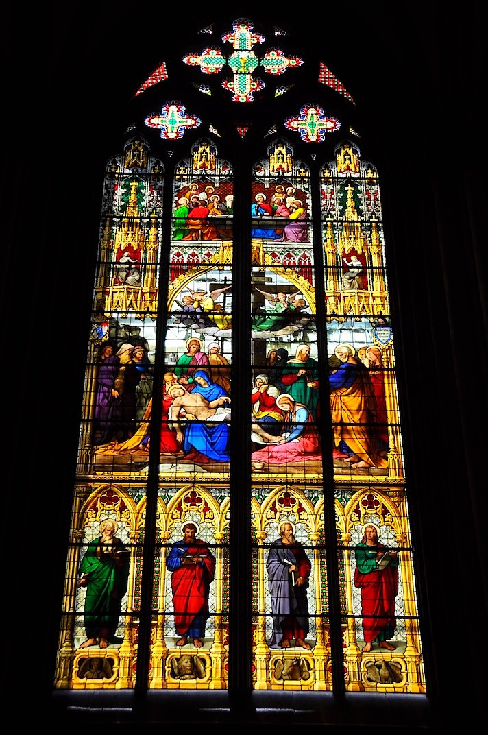 Cologne Cathedral Stained Glass (Germany)