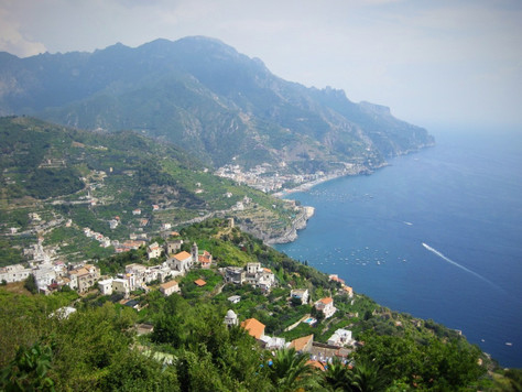 Amalfi Coast View from Ravello (Italy)