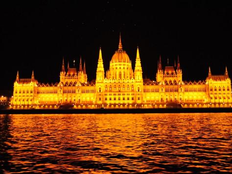Parliament at Night (Budapest, Hungary)