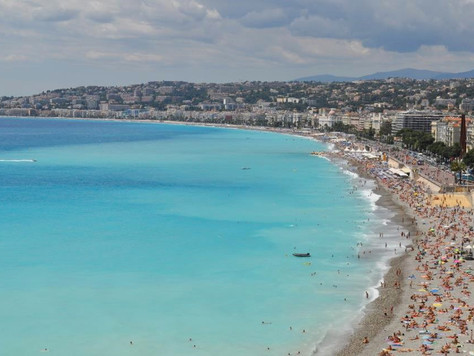 French Riviera Beach (Nice, France)