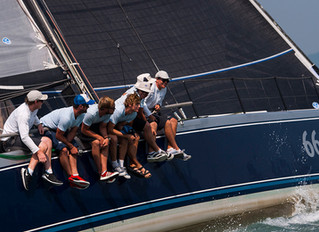 Volvo Hong Kong to Vietnam Race - She's 21 this year!