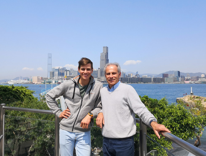 French Father and Son Double-handed Entry to Take on the Rolex China Sea Race - 法國父子檔出戰勞力士中國海帆船賽 - 法