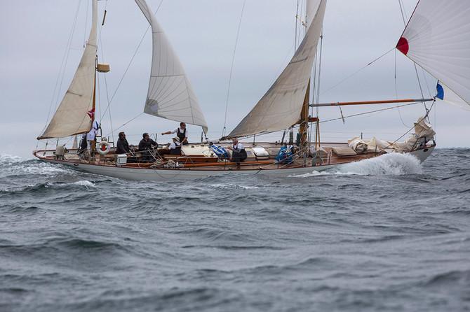 Famous Classic Yacht Dorade Takes on Asia 经典帆船 Dorade号出战亚洲