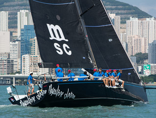 Mascalzone Latino takes victory with top speed of 30kts