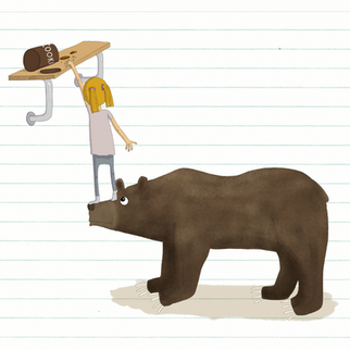 Grizzly and Girl