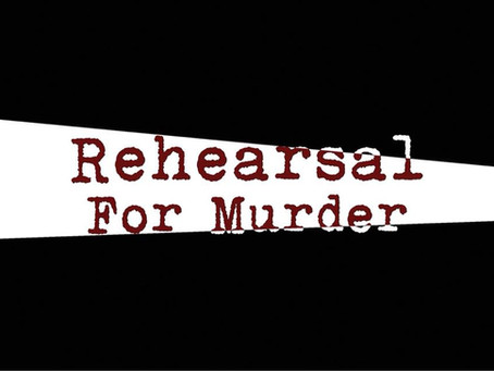 "Cast List: ""Rehearsal for Murder"""