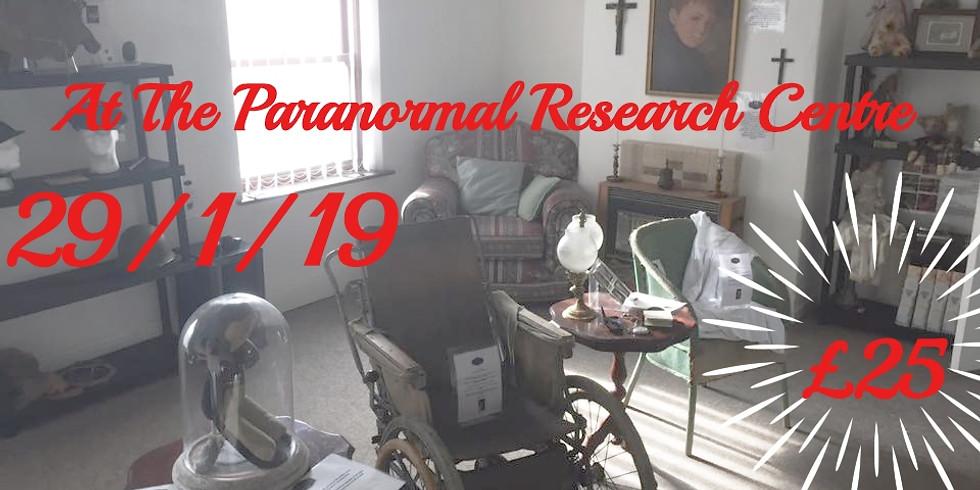 Paranormal Investigating at antiques paranormal centre