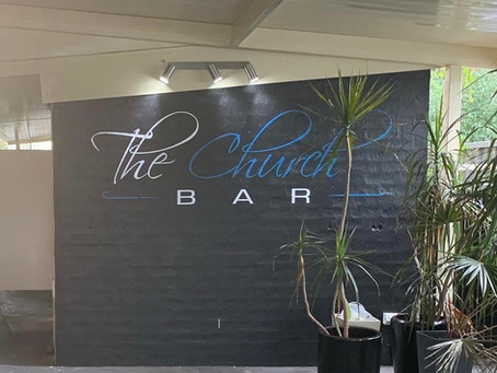 The Church Bar gets a facelift.