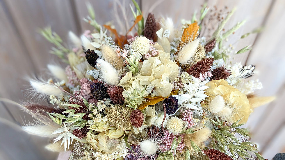 DRIED FLORALS WEDDING PACKAGE