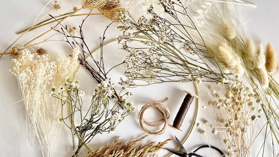 DIY wreath kit - Natural