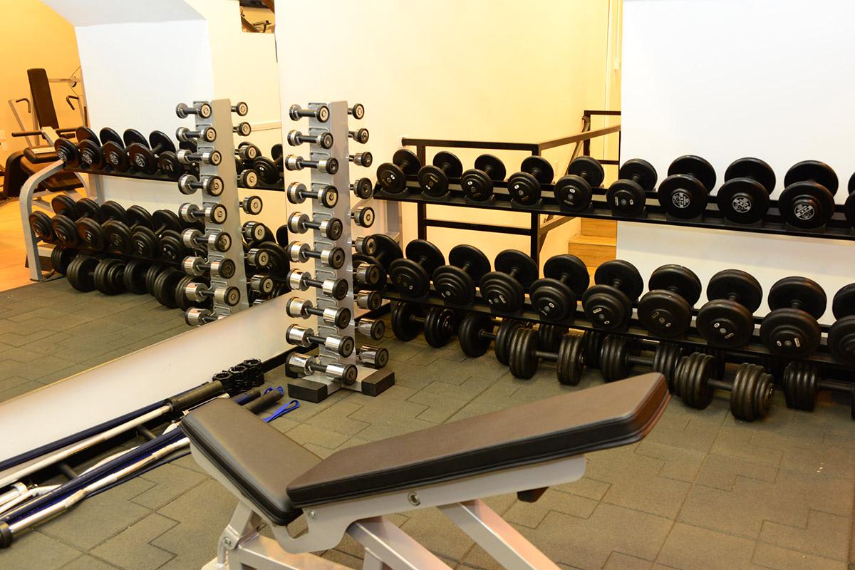 Musculação com peso livre