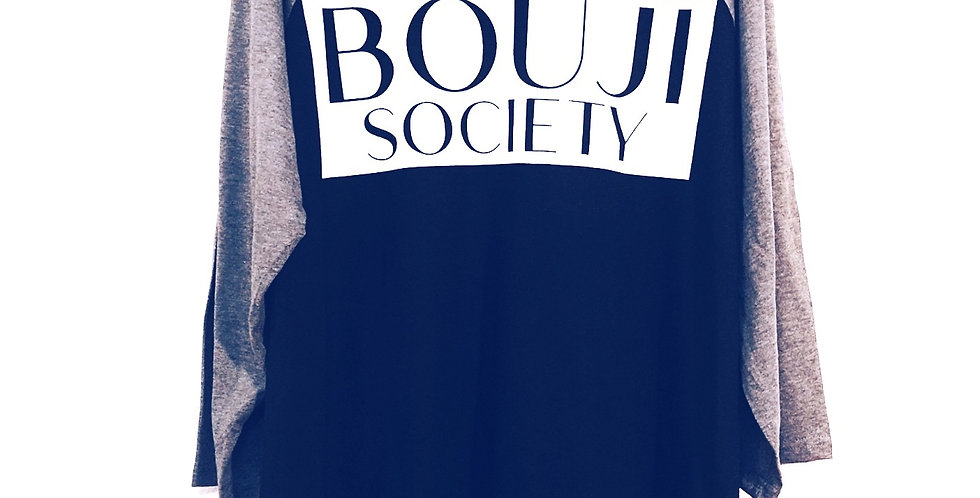 Bouji Society Raglan Tee - Bouji Society Fashion and Clothing - www.boujisociety.com