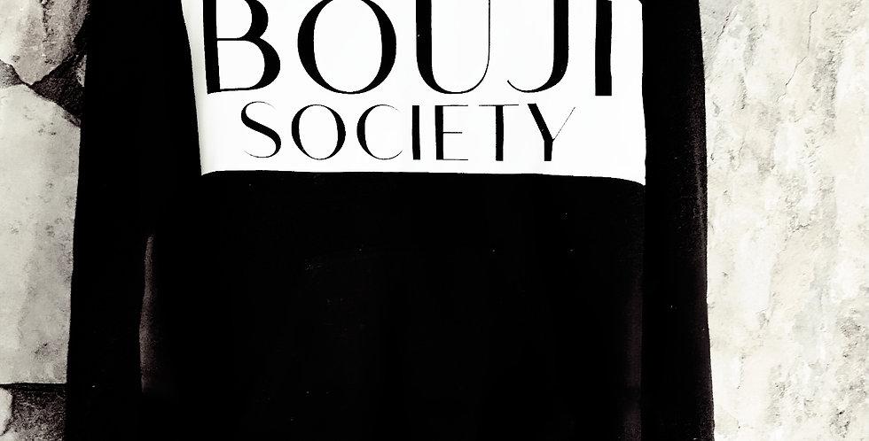 Unisex Black Hoodie Bouji Society Logo - Bouji Society Fashion and Clothing - www.boujisociety.com