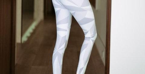 Sleek Geometric Leggings back - Bouji Society Fashion and Clothing - www.boujisociety.com