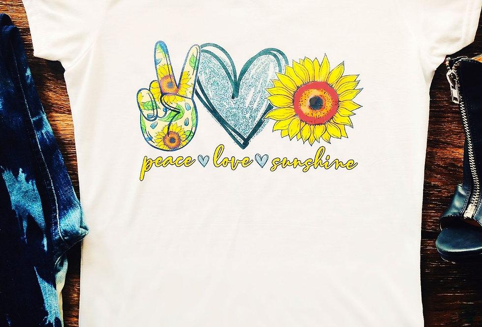 Peace Love Sunshine Tee