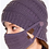 Thumbnail: Violet Beanie and Mask Set