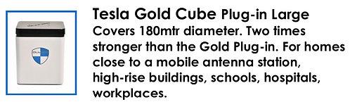 Tesla Gold Cube Plug-in Large