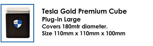 Tesla Gold Premium Cube