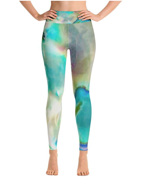 XL Blue Heaven Yoga Leggings