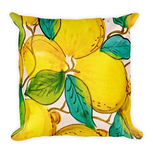 Limoni Square Pillow