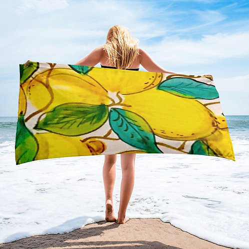 Limoni Beach/Bath Towel