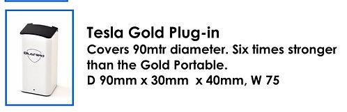 Tesla Gold Plug-in