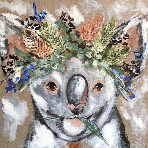 Rain Maker Koala Painting