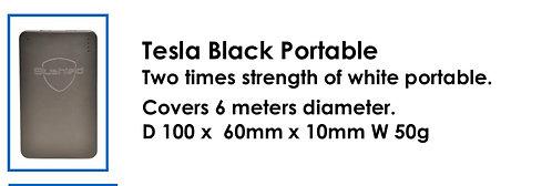 Tesla Black Portable